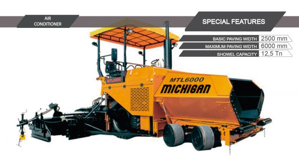 -- - Asphalt Paver Finisher MTL6000